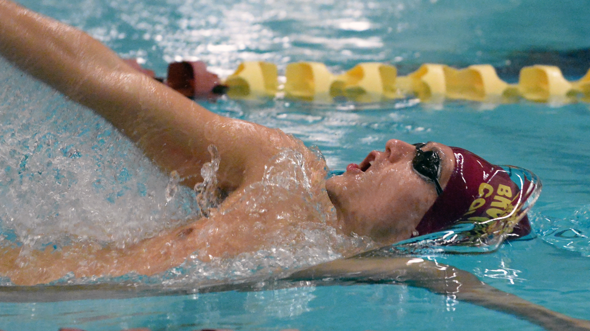 Swimming and Diving Falls to CSI on Senior Night - Brooklyn